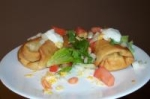 Shredded Beef or Pork Chimichangas picture