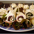 Ham and Fresh Basil Pinwheels picture