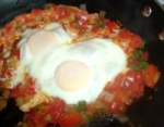 Persian Eggs Poached in Tomato Sauce picture