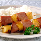 ham and pineapple kabobs picture