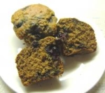 Honey Bran Blueberry Muffins picture