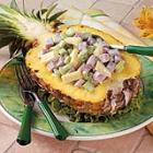 Ham Salad Pineapple Boats picture