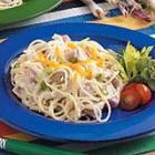 ham spaghetti skillet picture