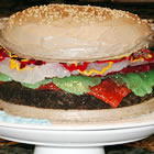 hamburger cake picture