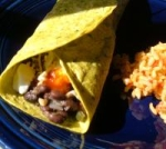 Pass-It-Along Black Bean Burritos picture