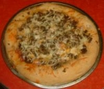 Italian Turkey Sausage Pizza picture