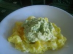 Avocado With Scrambled Eggs picture