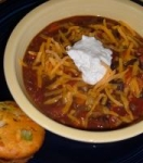 Cheesy Vegetable Chili Soup picture