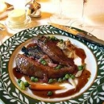 Roast Wild Duck With Cranberry Sauce picture