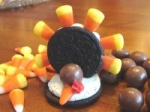 Oreo Turkeys (Thanksgiving Snack) picture
