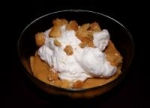 Pumpkin Pudding With Candied Ginger Whipped Cream picture