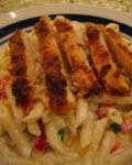 My Version of Blackened Chicken Pasta picture