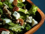 Romaine Salad With Pecan and Blue Cheese Dressing picture