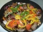 Sausages, Pepper & Mushroom Scramble picture
