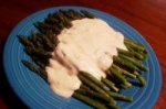 Asparagus With Creamy Mustard Onion Sauce picture