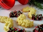 Mandelspritzgebäck (German Christmas Almond Cookies) picture