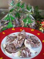 Chocolate Marble Candy Cane Bark picture