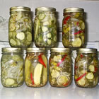 Homemade Refrigerator Pickles picture