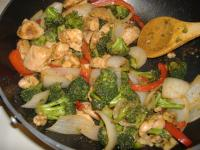 Walnut Chicken Stir-Fry picture