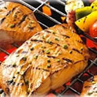honey ginger grilled salmon picture