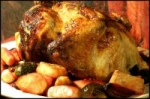 Lemon-Herb Chicken With Roasted Vegetables and Walnuts picture