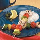 honey rosemary  chicken kabobs picture