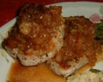 Pork Chops With Golden Apple Sauce picture