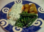 Salmon With Cucumber-Dill Sauce picture