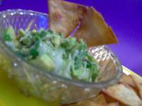 Tortilla Triangles With Avocado Salsa picture