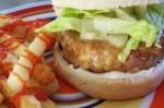 Ground Chicken Burgers picture