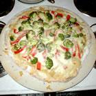 Hummus Pizza picture