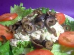 Tuna Fish Salad on a Bed of Lettuce picture