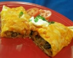 pineapple-black bean enchiladas picture
