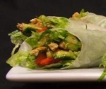 Vietnamese Rolls With Peanut Dipping Sauce picture