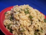 Green Pepper Brown Rice picture