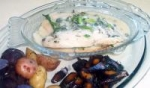 Baked Tilapia With White Wine and Herbs picture