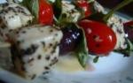 Mozzarella  Tomato Olive Cocktail Skewers picture