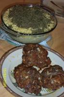 Italian Mini Meat Loaves With Mac and Three Cheeses picture