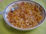Bow Tie Pasta and Vodka Sauce picture