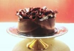 Chocolate Raspberry Ruffle Cake picture