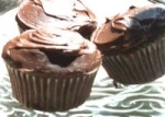 Filled German Chocolate Cupcakes picture