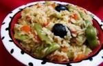 Mediterranean Paella (Vegetarian) picture