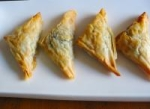 Greek Spinach and Feta Puff Pastry Triangles picture