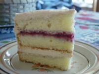 Raspberry-Laced Vanilla Cake picture