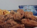 Crunchy Deep Fried Chicken Wings picture