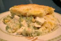 Quick-Topped Vegetable Chicken Casserole picture