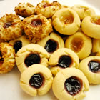 jam filled butter cookies picture