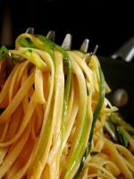 Linguine With Green Onions picture