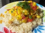 Garlic Lime Grilled Chicken With Mango Salsa picture