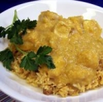 Curried Chicken in Coconut - Pumpkin Sauce picture